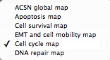 ACSN collection map selection screenshot